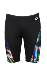 Arena M Colourful Paintings Jammer Black-multi