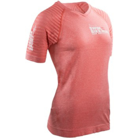 Compressport Training T-shirts Roze