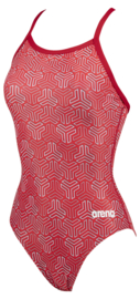 Arena W Kikko Light Drop Back Badpak red-multi