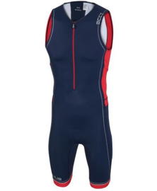 HUUB Trisuit Core Limited Navy/Red/White