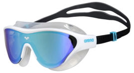 Arena The One Mask Mirror Zwembril Blue-White-Black