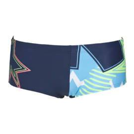 Arena Low Waist Lightshow Navy Multi / D128