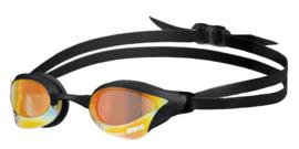 Arena Cobra Ultra Swipe Spiegel Zwembril yellow-copper-black