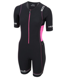 HUUB Trisuit Core Long Course Womens Black-Pink