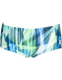Arena M Shading Prism Low Waist Short Navy Multi