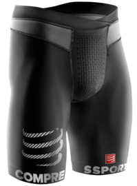 Compressport Running Short Zwart