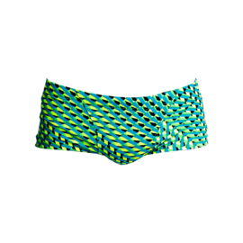 Funky Trunks Classic Trunk Green Gator