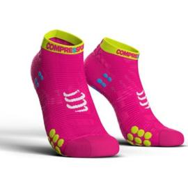 Compressport Pro Racing Socks V3.0 Low Roze