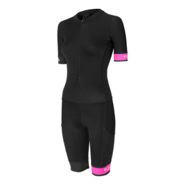 Fusion Speed Suit Black-Pink Dames