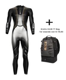HUUB Wetsuit Agilis Zilver/ Brons LE Heren + gratis TT tas