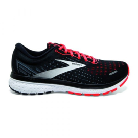 Brooks Ghost 13 neon rood Dames