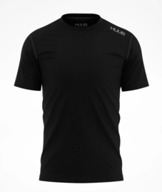 HUUB Merino Short Sleeve Base Layer Heren Zwart