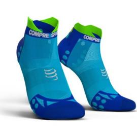 Compressport Ultra light Socks V3.0 Low Blauw