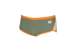Arena Team Stripe - Low Waist - Army-Tangerine