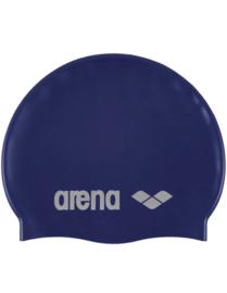 Arena Classic Silicone Silicone Badmuts Denim-Silver