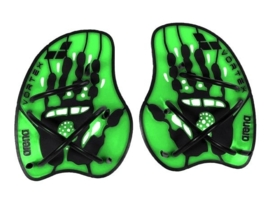 Arena Vortex Evolution Hand Paddle acid-lime/black