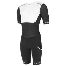 Fusion SLI Speedsuit White-Black Dames