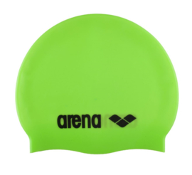 Arena Classic Silicone Junior Badmuts Acid-Lime/Black