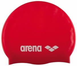 Arena Classic Silicone Badmuts Red/White