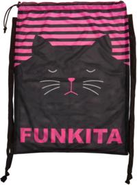 Funkita Crazy Cat  Mesh Tas
