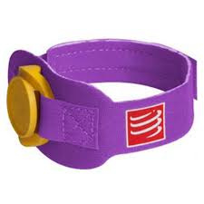 Compressport Timing Chip Strap Paars