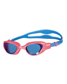 Arena The One Junior Zwembril lightblue-red-blue
