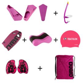 Borstcrawlcursus Zwempakket Gevorderden Pink