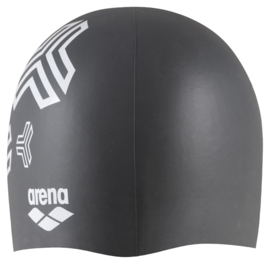 Arena Reversible Silicone Badmuts black-grey