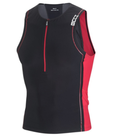 HUUB Core Tri Top Mens Black-Red