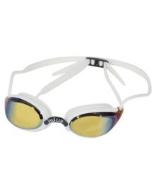 HUUB Zwembril Brownlee Mirror White-Yellow