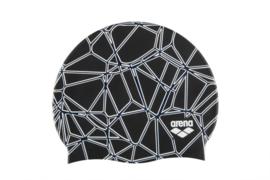 Arena Silicone Badmuts Carbonics-Pro-Black