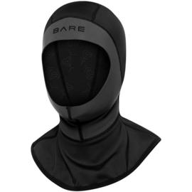 Bare ExoWear Neopreen Hood Zwart