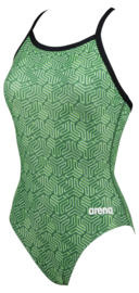 Arena W Kikko Light Drop Back Badpak green-multi