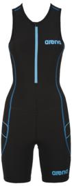 Arena Trisuit ST Womens Black-Turquoise