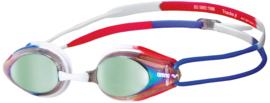 Arena Zwembril Tracks Spiegel Goud-Blauw-Rood