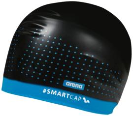 Arena Smartcap Training - Zwart/Turquoise