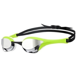 Arena Cobra Ultra Spiegel Zwembril silver/green/white