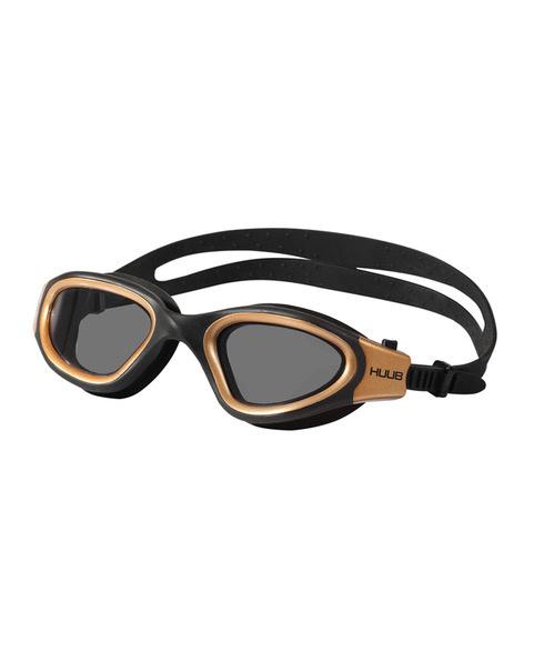 HUUB Aphotic Zwembril- Zwart/Brons