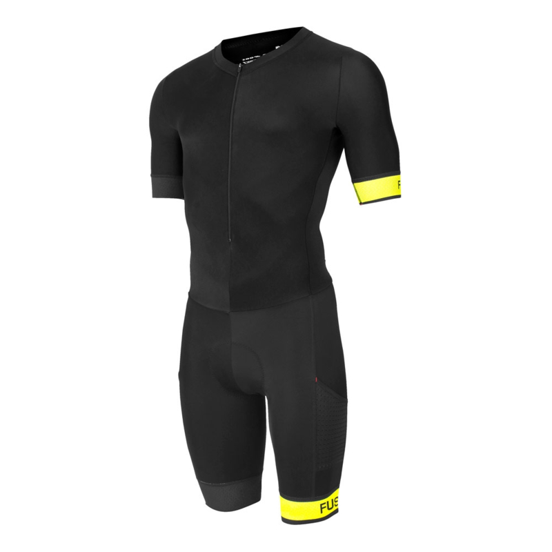 Fusion Speed Suit Black-Yellow Unisex