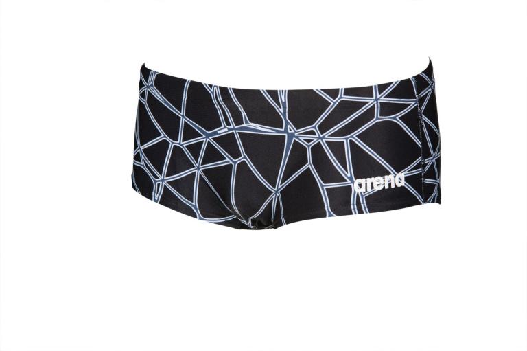 Arena M Carbonics Pro Low Waist Short black-black