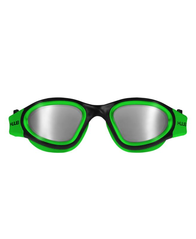 HUUB Aphotic Zwembril - Polarised Mirror - Groen