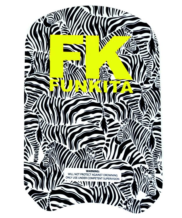 Funkita Zebra Crossing  Zwemplank