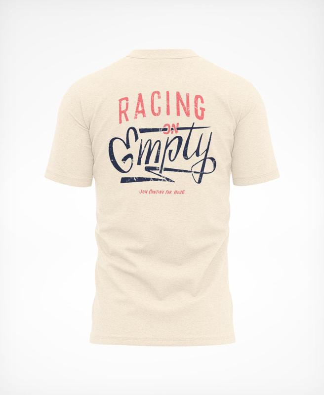 HUUB Racing On Empty T-Shirt Sand