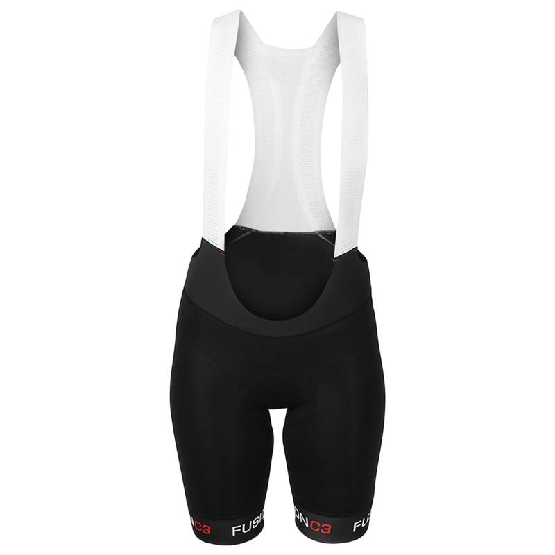 Fusion C3 Bib Short Womens Black