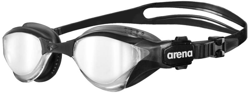 Arena Cobra Tri Mirror Zwembril silver-black-black