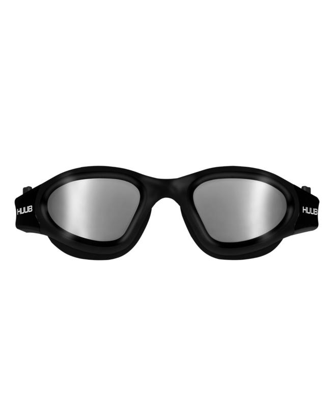 HUUB Aphotic Zwembril  - Zwart Polarized
