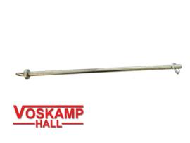 Aansluit pen voor lamoen / disselboom 38cm  / ⌀ 16 mm (42031)