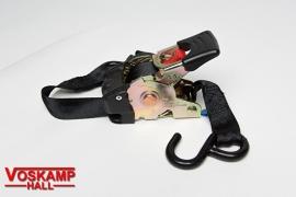 Spanband Zwart Smal (08815)