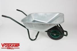 80 liter kruiwagen met gegalvaniseerde bak (08887)
