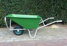 Kruiwagen 160L enkel wiel